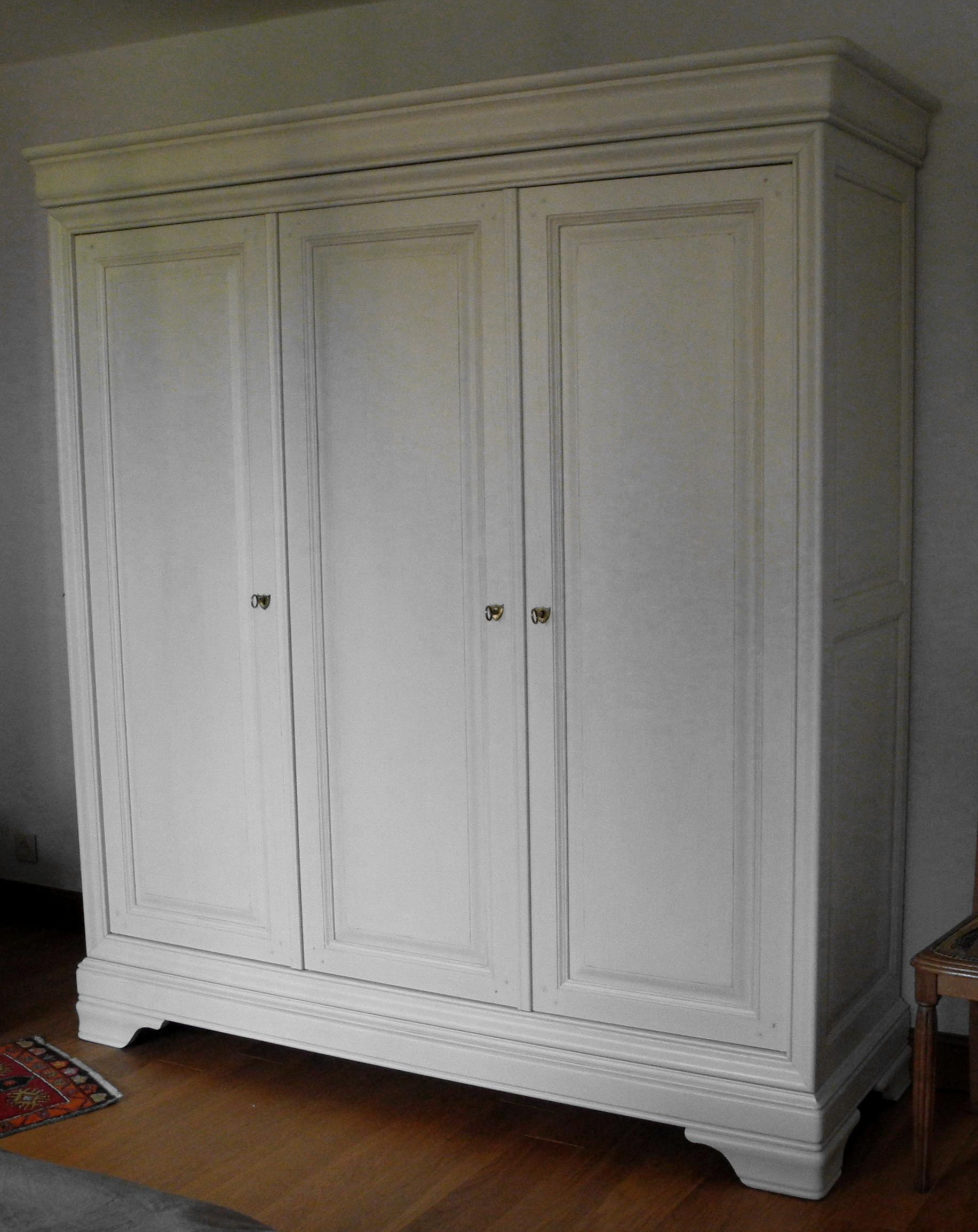 armoire Louis Philippe  relookée